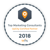 upCity - Top Marketing Consultants in Charlotte Badge
