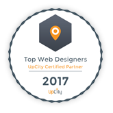 upCity - Top Web Designers in Charlotte Badge
