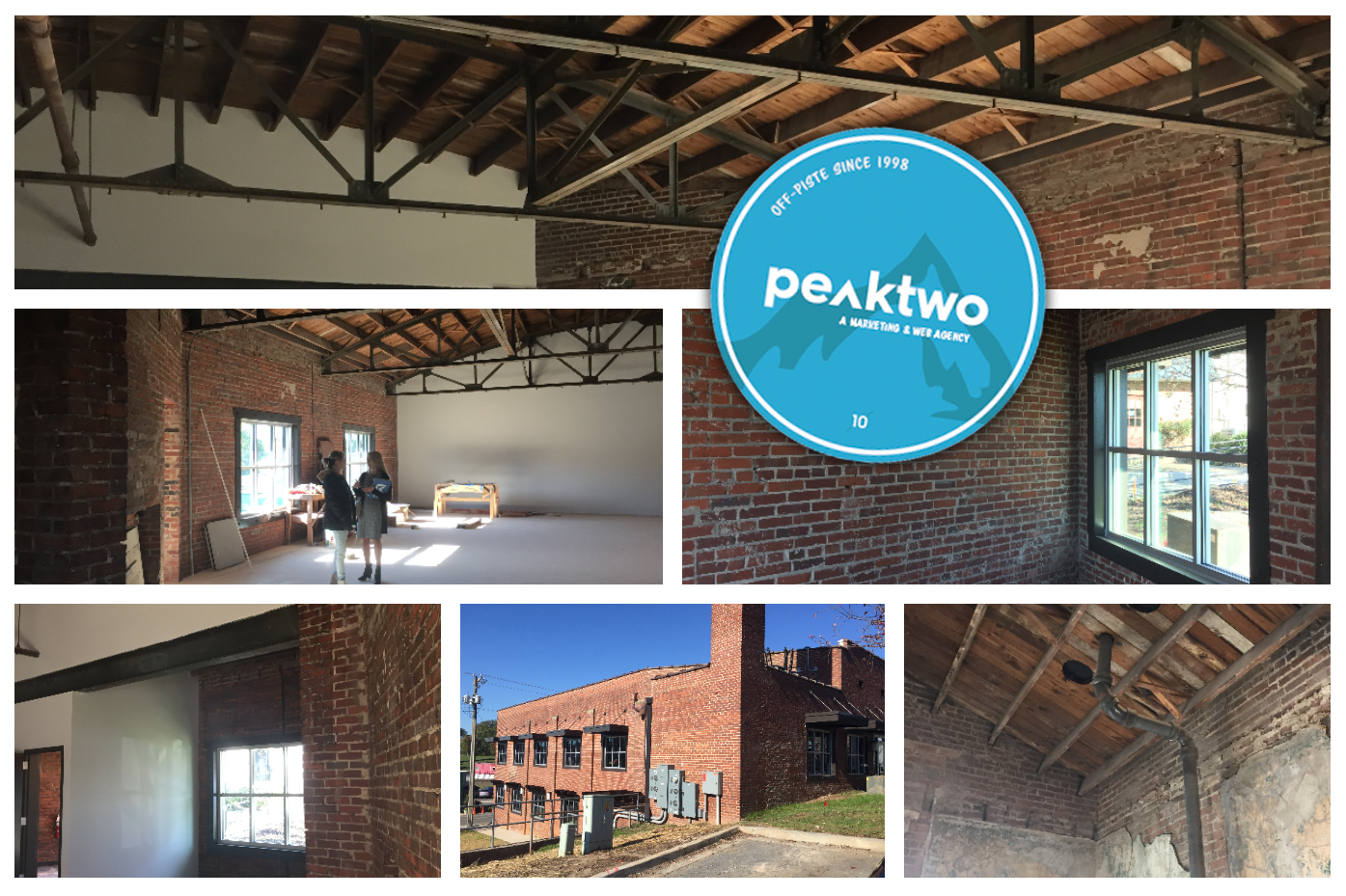 peaktwo relocated from Charlotte, NC to new offices on Main Street in Fort Mill